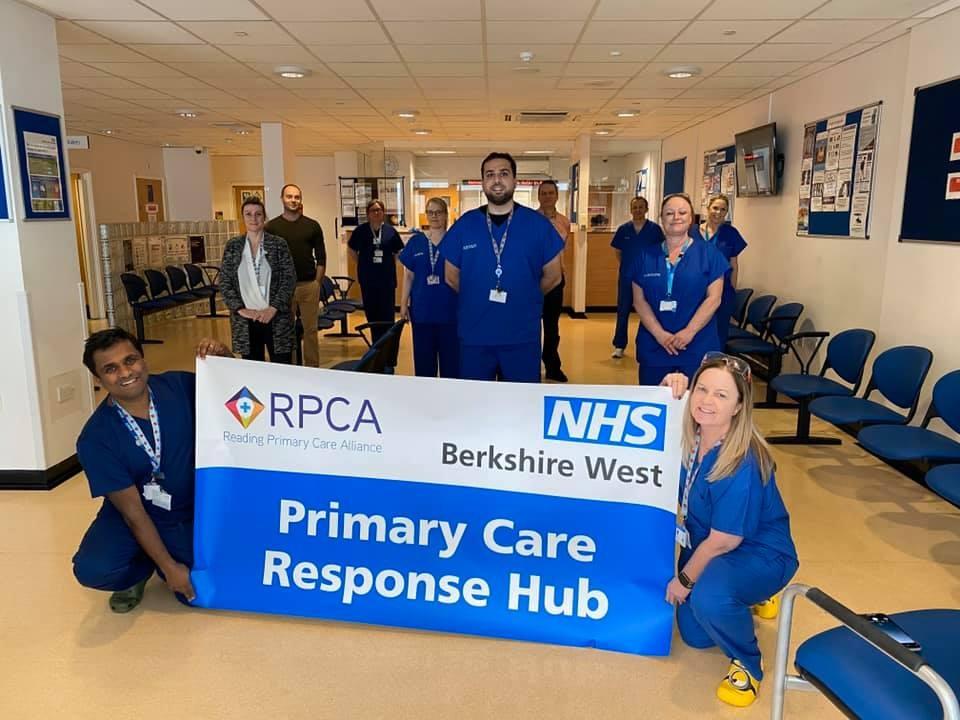Hot Clinic Medics trained in TICC-19